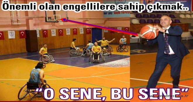 Altınordu belediyesi engelli sporcuların yanında..