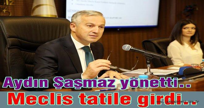 ALTINORDU BELEDİYESİ MECLİS OTURUMU YAPILDI..