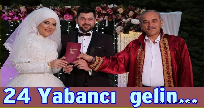 Altınordu Belediyesi tarafından 6 ayda 437 nikah kıyıldı..