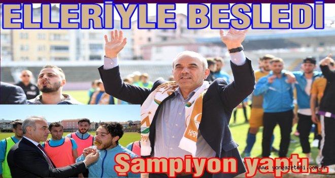 Altınordu Belediyespor  şampiyon oldu..