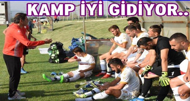 Altınordu Belediyespor hazırlık maçında galip geldi..
