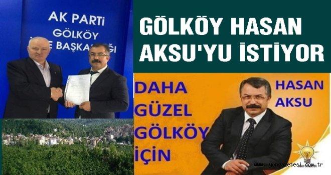 Av. Hasan Aksu Gölköy aday adayı oldu…