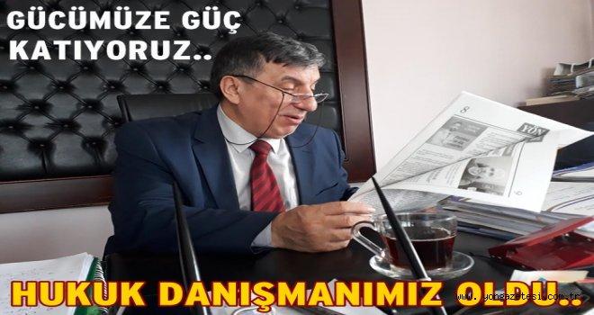 Av. Rüşan Yüksel gazetemizin hukuk danışmanı oldu..