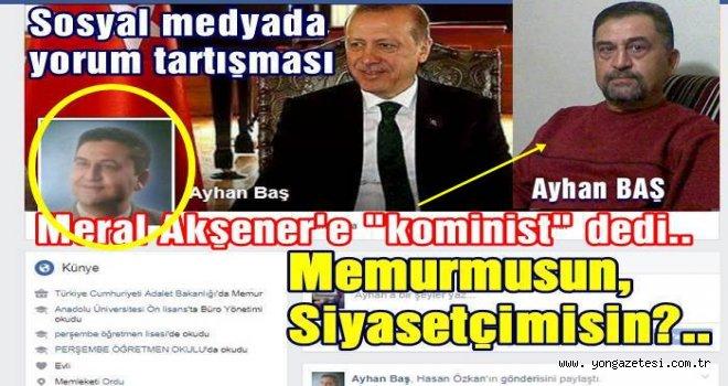 Ayhan Baş'tan Meral Akşener'e hakaret..