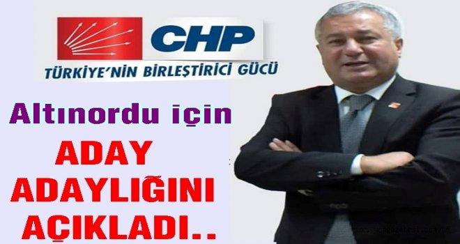 Aytekin Öztürk, CHP'den aday adaylığını açıkladı..