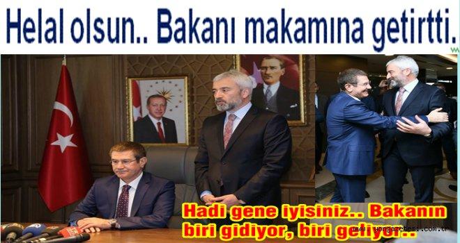 Bakan Canikli Ordu Büyükşehir Belediyesini Ziyaret etti..
