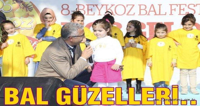 BAL FESTİVALİNDE BAL GÜZELLERİ SEÇİLDİ..