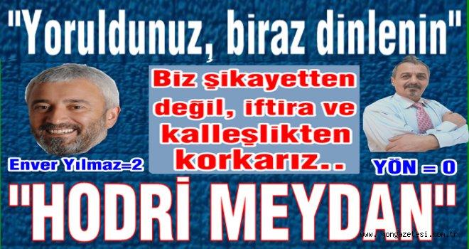 Başkan Enver Yılmaz gazetemiz hakkında suç duyurusunda bulundu..
