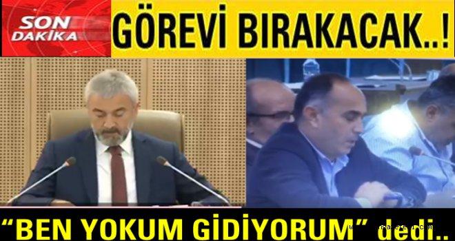 Başkan Enver Yılmaz'dan mecliste istifa sinyalleri..