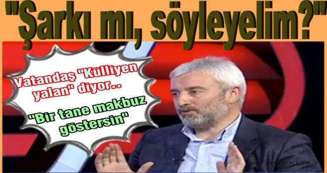 Başkan Enver Yılmaz'ın TV. konuşmasına  büyük tepki..