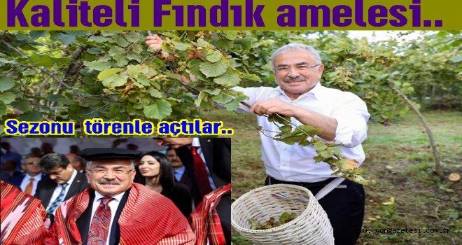 Başkan Hilmi Güler, bahçeye girdi..