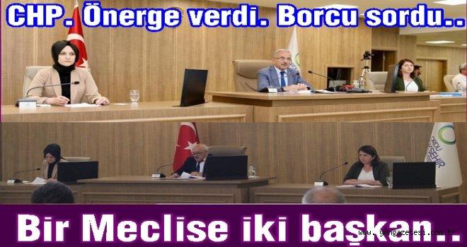 Başkan Hilmi Güler meclisi yarıda bıraktı..