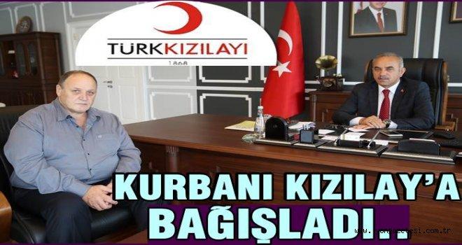 """Başkan Tekintaş: """"Kızılay Bizim Gözbebeğimiz"""""""