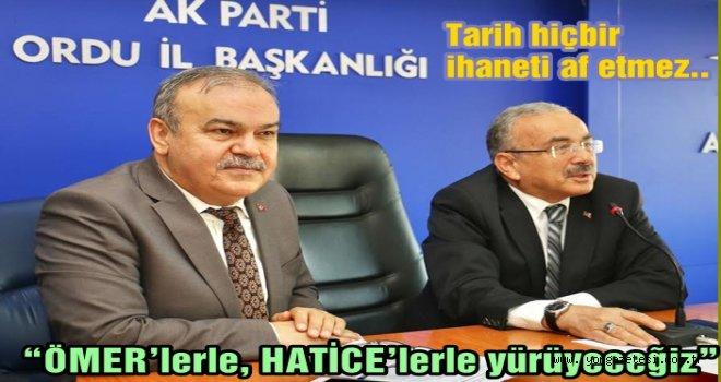 Başkan Tomakin, yeni parti kuranlara sitem etti..