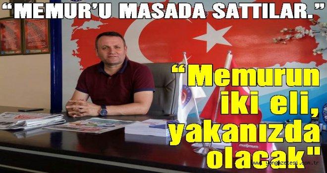 Başkan, Zengin'den memur zammına tepki..