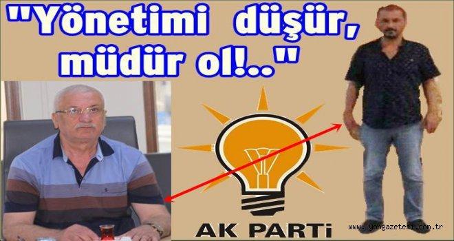 Başkandan AKP. yönetimine operasyon emri..