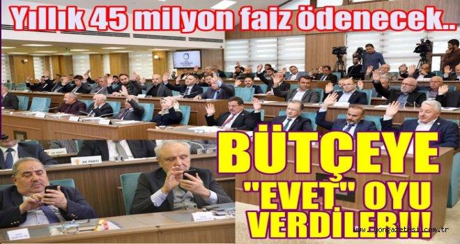 Belediye günlük 123 bin TL. faiz ödeyecek..!
