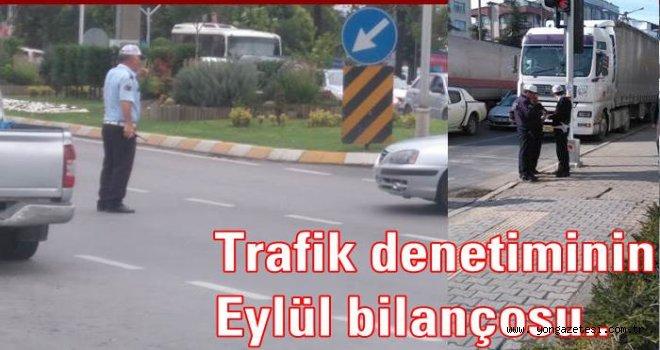 BİR AYDA 21 BİN ARAÇ KONTROL EDİLDİ..
