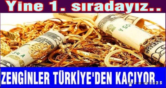 Bir yılda altı bin zengin Türkiye'yi terk etti.