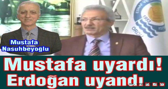 Birlik başkanı Erdoğan Akyürek, böyle kopya çekti..
