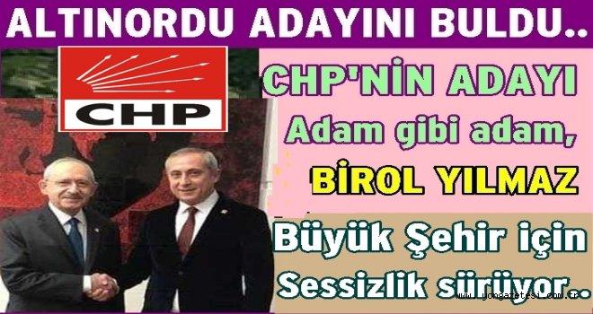 Birol Yılmaz CHP'nin Altınordu adayı oldu..