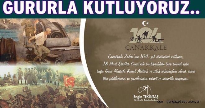 """""""BU KUTSAL MİRASA HER ZAMAN SAHİP ÇIKACAĞIZ"""""""