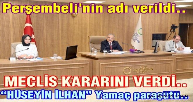 Büyükşehir Belediye meclisi yeni kararlar aldı..