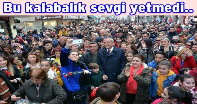 CHP Adayı Birol Yılmaz'ın tebrik mesajı..