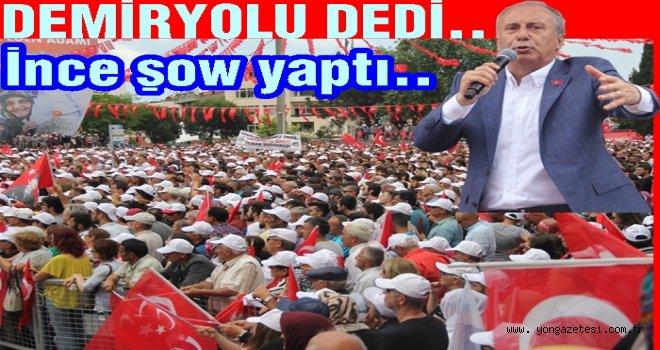 CHP Adayı Muharrem İnce Ordulu'lara hitap etti..