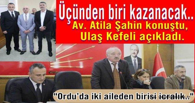 CHP Altınordu'nun  3. Başkan adayı Ulaş Kefeli..