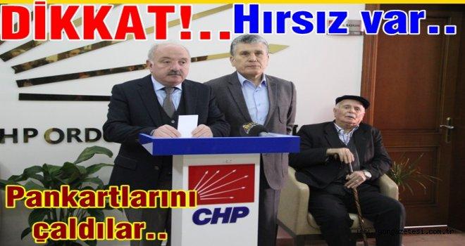 CHP İl başkanı Atila Şahin'den teşekkür ve sitem var..