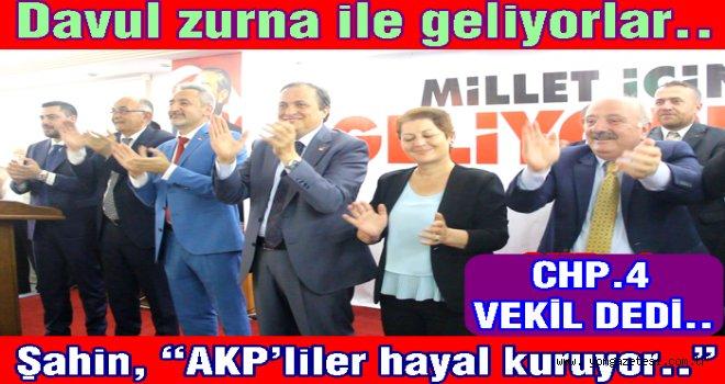 CHP Milletvekili adaylarını tanıttı..