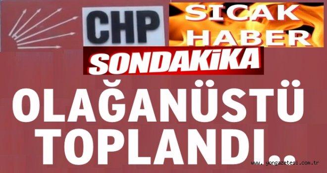 CHP olağanüstü toplandı, gündemde boykot da var..