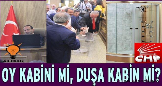CHP oy Kabini istedi.. AKP ret etti..Sonuç DUŞAKABİN oldu..