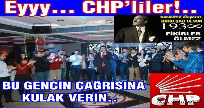CHP Seçim kaybetmek için şimdiden hazırlanıyor.