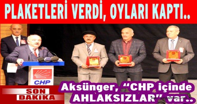 CHP'de Av. Atila Şahin yeniden başkan..
