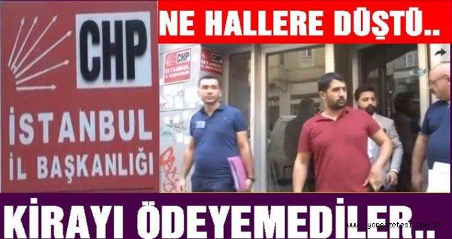 CHP'de Haciz memuru  kapıya dayandı..
