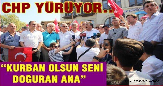 CHP'den Fındık fiyatı için protesto yürüyüşü..