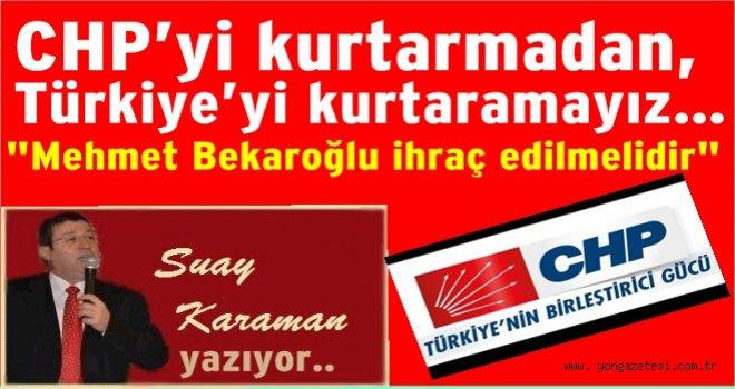 """CHP'nin TARİHİ DÖNÜM NOKTASI.. """"RAPORA BAK""""…"""