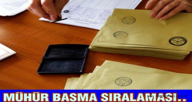 Cumhurbaşkanı adaylarının sıralaması belli oldu.