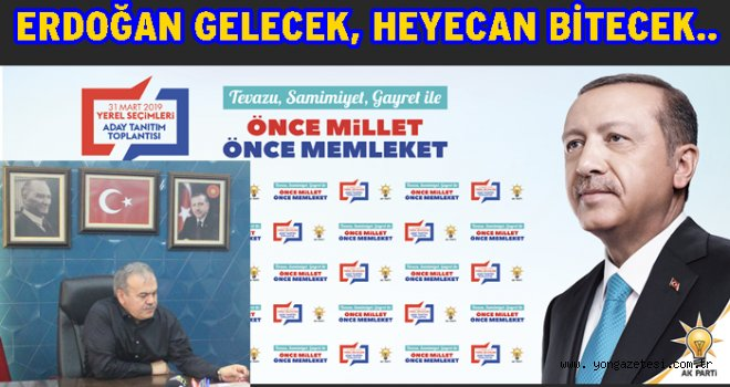 Cumhurbaşkanı Erdoğan Ordu'ya gelecek..