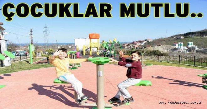 Cumhuriyet Mahallesine yeni bir park..