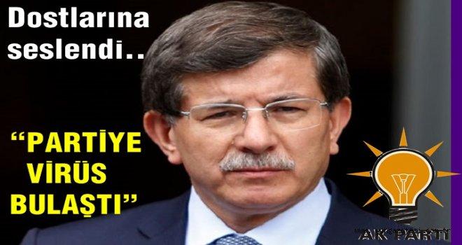 Davutoğlu'ndan partisi hakkında ilk kez konuştu..