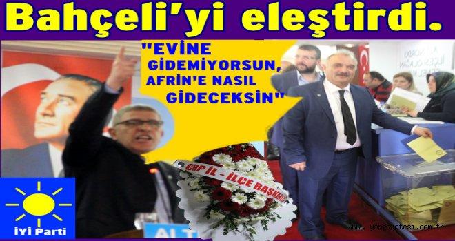 Dervişoğlu, İYİ Parti Altınordu kongresinde konuştu..
