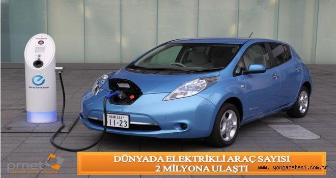 Dünyada elektrikli araç satışı hızla artıyor..
