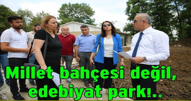 Durugöl Mahallesine modern park yapılacak..
