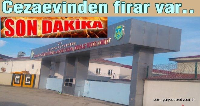 EFİRLİ CEZAEVİNDEN FİRAR  ETTİ..