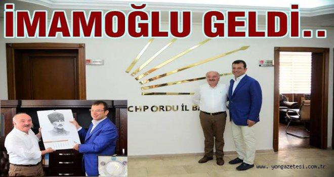 Ekrem İmamoğlu  CHP'yi ziyaret etti..