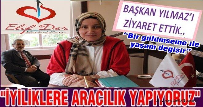 ELİFDER Başkanı Yeter Yılmaz faaliyetleri hakkında açıklamada bulundu..