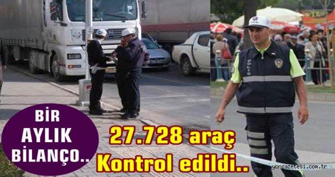 En çok trafik cezası  hız ihlalinden kesildi..